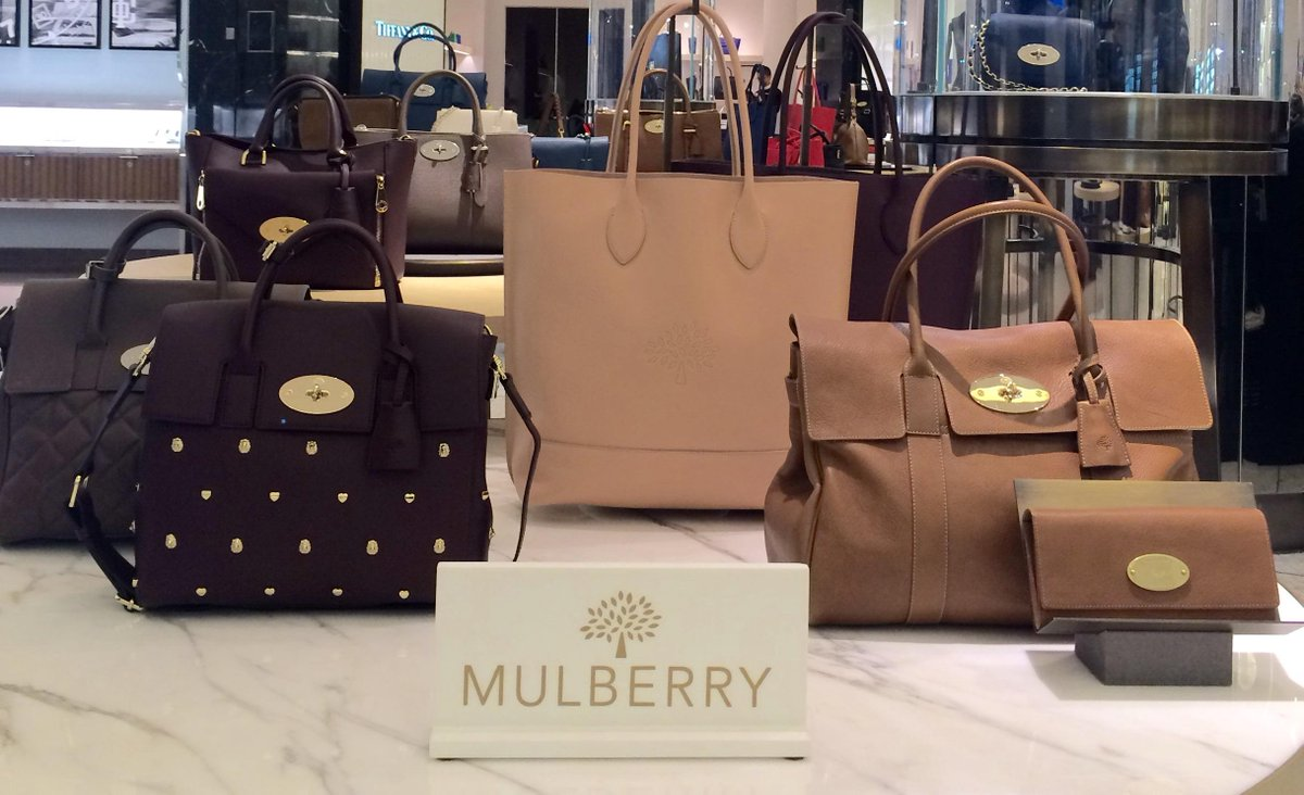 Newarrivals From Mulberry Editor In The Brown Thomas Dublin Accessories Hall