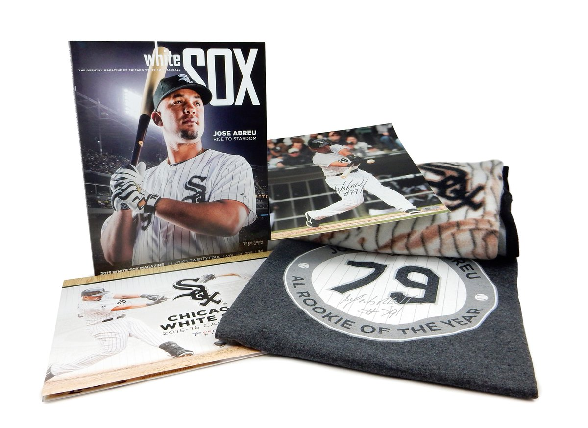 OK @whitesox fans want to score an awesome autographed Abreu prize pack? RT this tweet. 1 lucky duck wins #WGNSox http://t.co/i15hdhJgrB