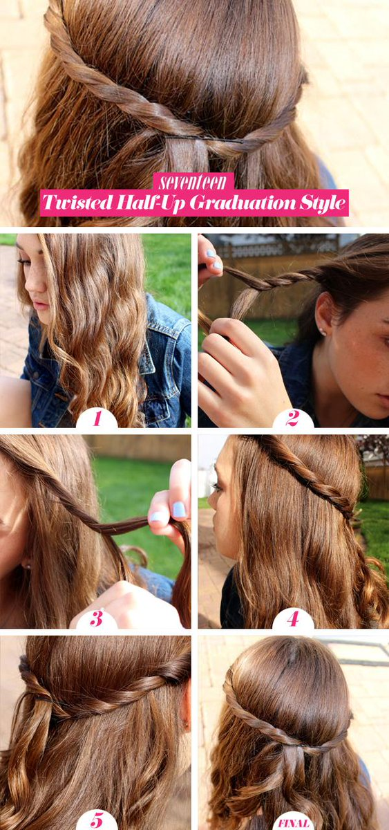 How To Style Your Hair Under Your Graduation Cap Scoopnest