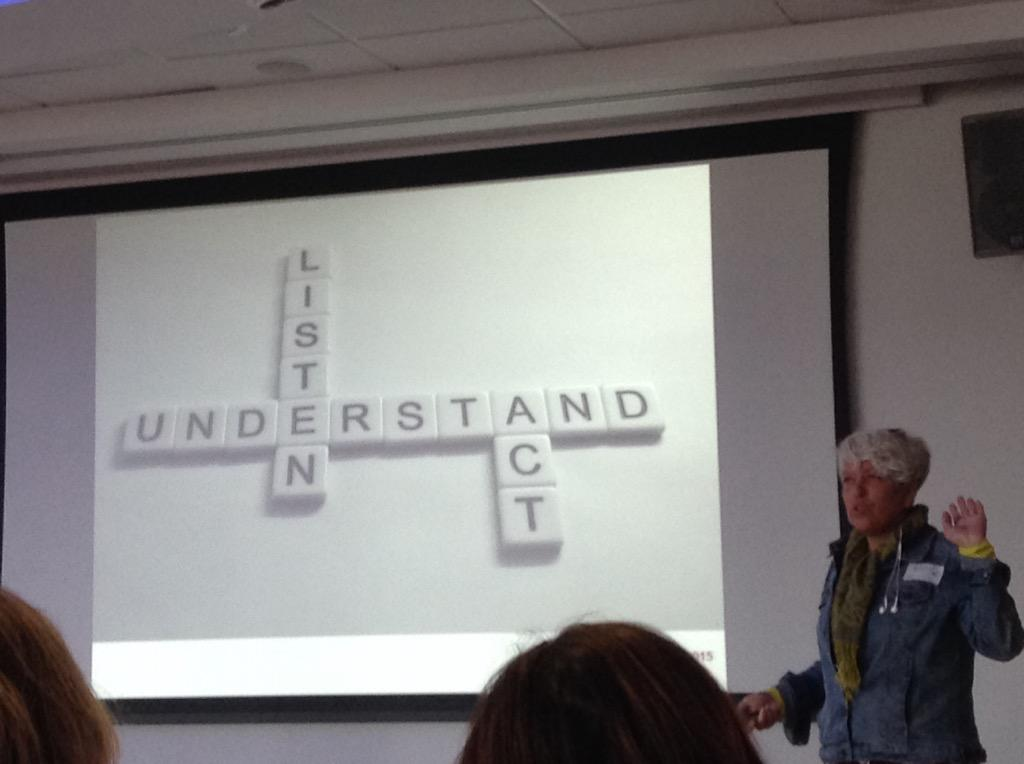 Must act as well as listen @MarDixon #natsca2015 http://t.co/HqUqJxv6tO