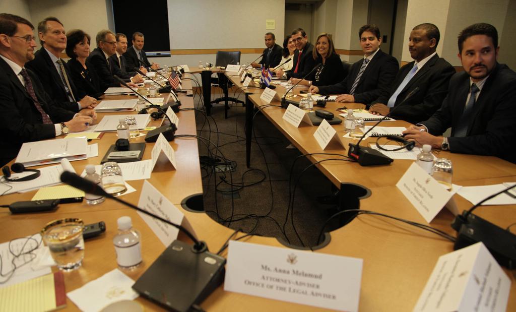 US-Cuba Talks to Restore Diplomatic Ties Begin