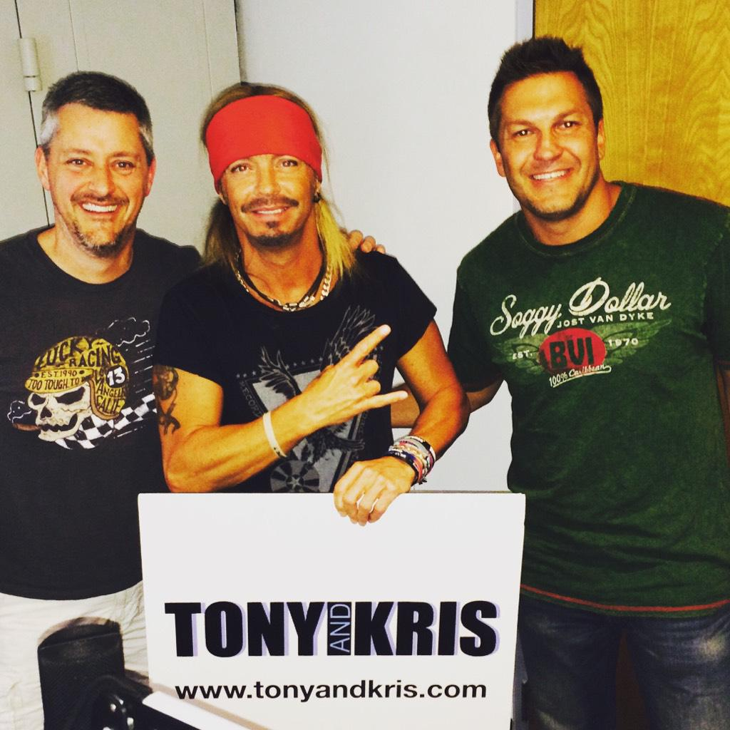 The hyper @bretmichaels will be on the @TonyandKris show very soon! http://t.co/tL3N6ppPko