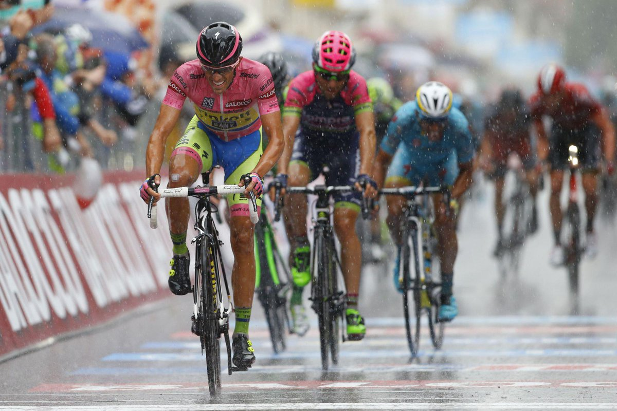 Video Giro d'italia tappa di oggi 21 maggio: Alberto Contador guadagna su Fabio Aru in classifica