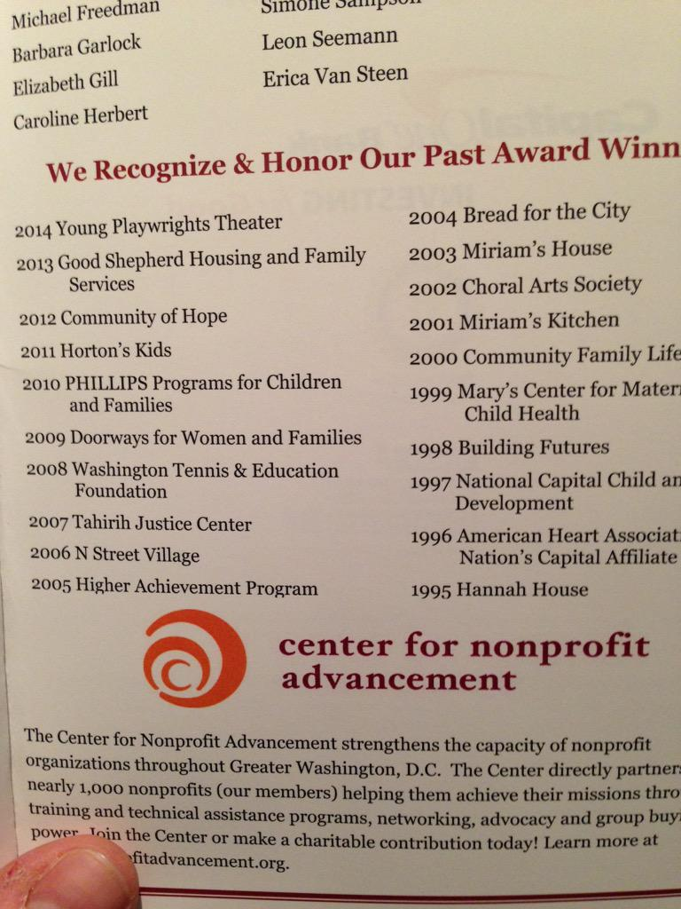 Impressive list of great non-profits -- who will win #postaward this year? http://t.co/38qxccCm8D