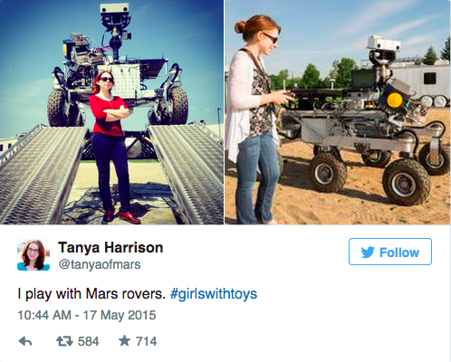 #GirlsWithToys campaign proves that women/girls have a place in #STEM: http://t.co/5UXnQGRHIj h/t @HuffingtonPost http://t.co/03mfAjgLwE