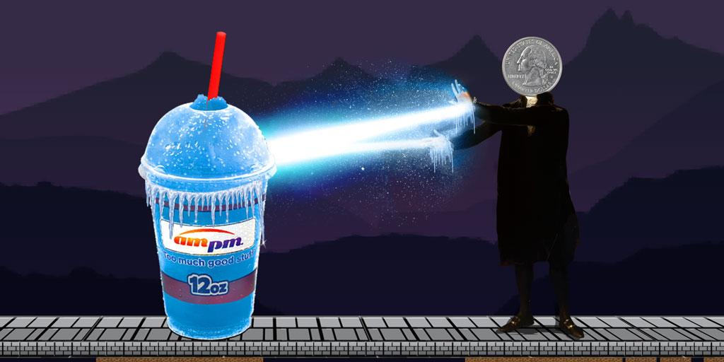 Go crazy with 25-cent Freeze Fridays. Too Much Good Stuff®. http://t.co/IQVLXeb2K4