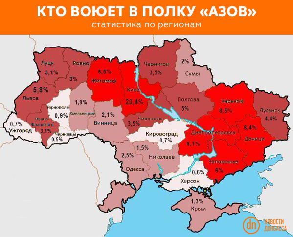 """За два часа террористы выпустили около 60 мин по позициям сил АТО в Широкино, один боец ранен, - """"Азов"""" - Цензор.НЕТ 3946"""