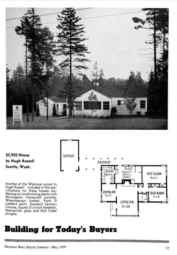 Floor plan for a $5,950 home in 1939 #ThrowbackThursday http://t.co/cMzBpSLidM http://t.co/HzpThSOtn6