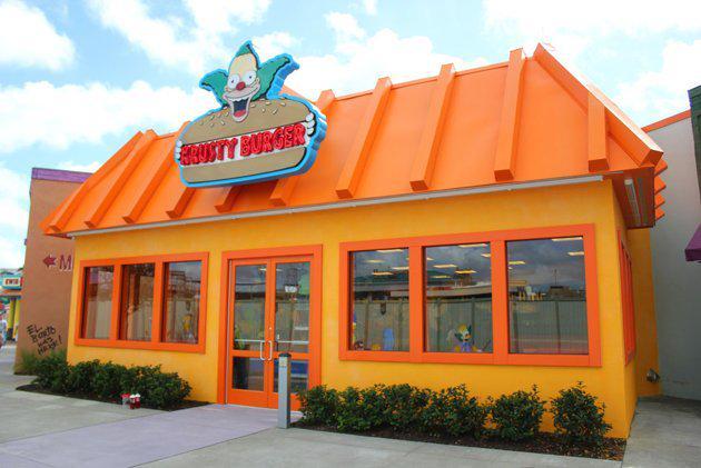 Un parc d'attraction Simpsons vient d'ouvrir ses portes en Californie.