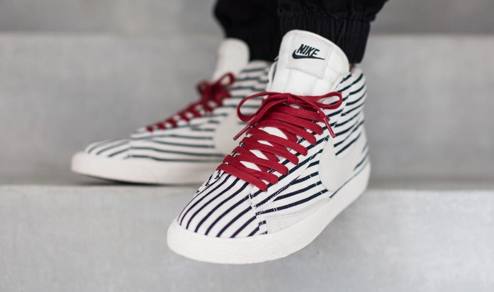 newest fdab1 891be the nike blazer mid prm vntg gets a vintage americana style makeover