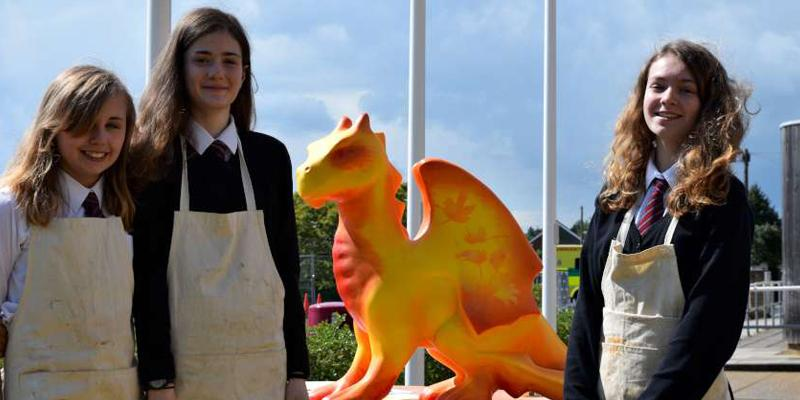 More GoGoDragons in schools…