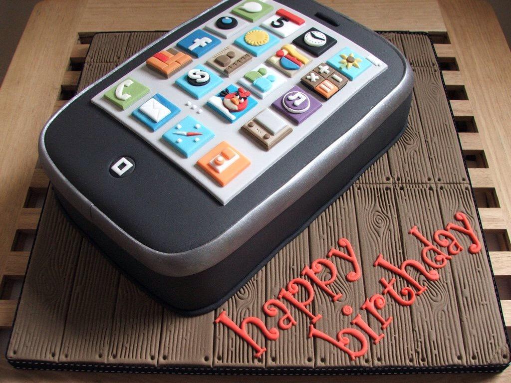 Открытки ко дню рождения для сотового телефона