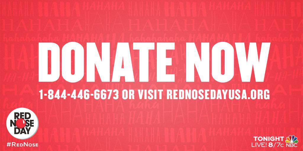 RT @rednoseday: Tonight, you can help feed a hungry child  Call 1-844-446-6673 or visit http://t.co/pBnPlGAcpZ  #RedNose #RedNoseDay http:/…