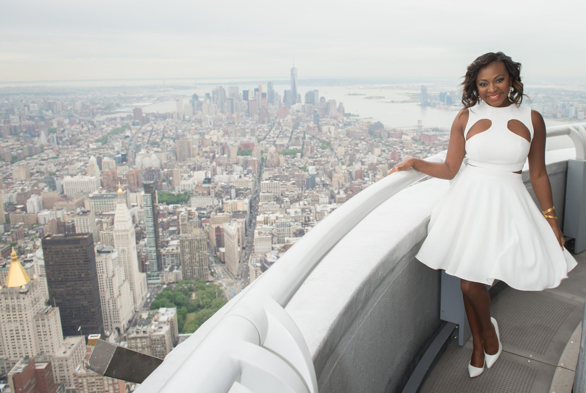 Empire state bldg on twitter actress naturi naughton for 103rd floor empire state building