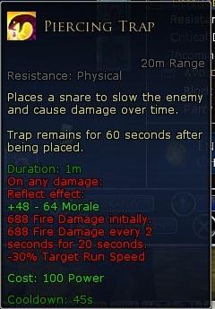 Hunter Trap Damage