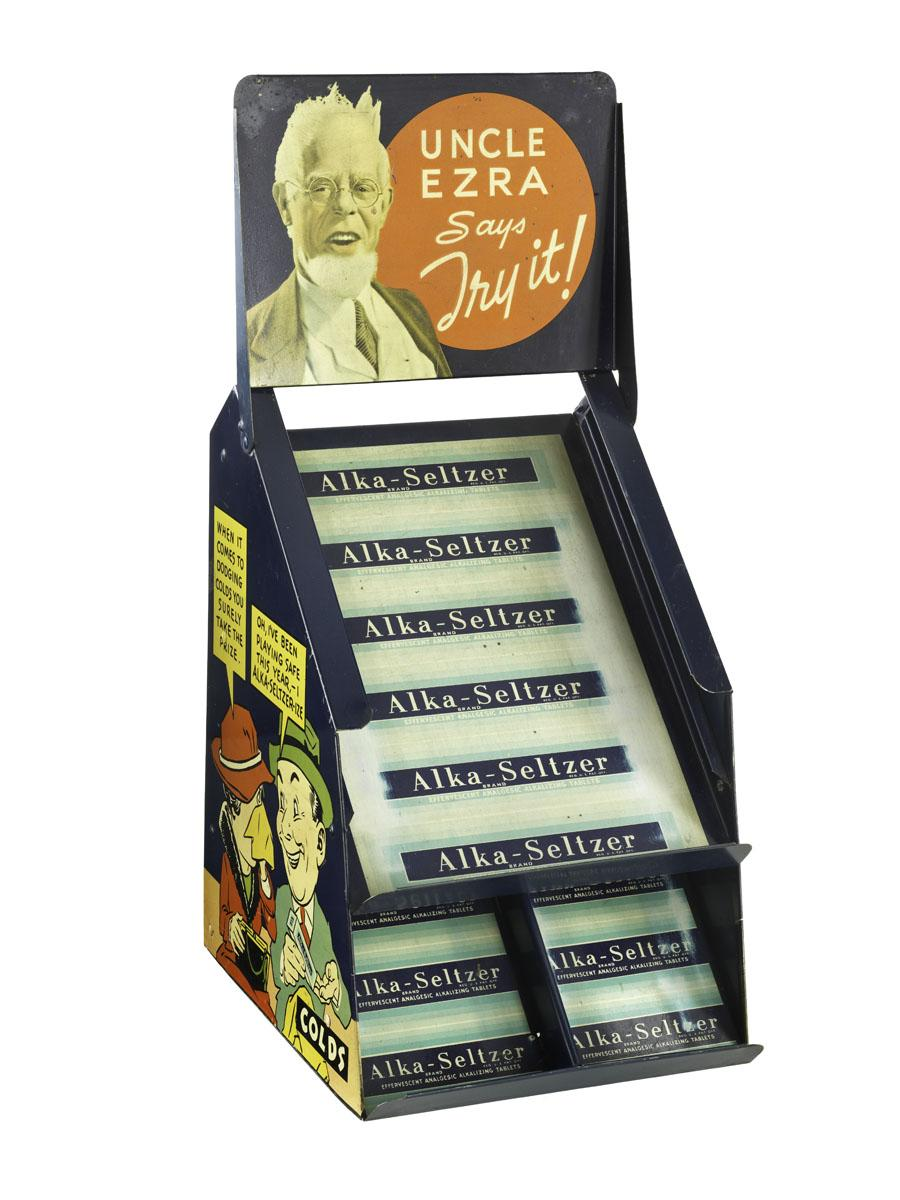 On July 1, visitors to our #BusinessHistory exhibition will see this 1930s Alka-Seltzer counter display. http://t.co/IiGXsNXGV7