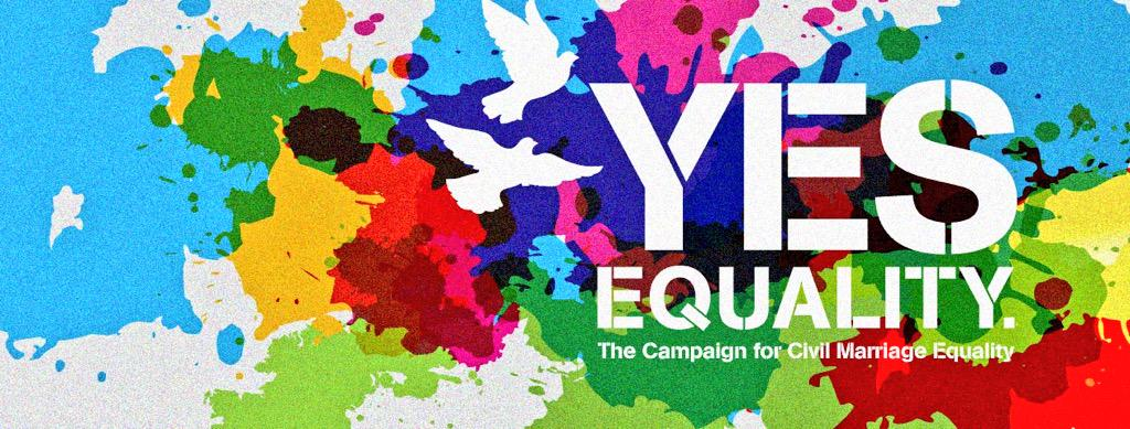Come on Ireland.. Please VOTE .. And vote YES !! #equality http://t.co/C8amhUcTf0