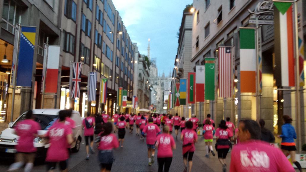Run530 a Milano e' stato un successo, prossimo appuntamento il 29 maggio a Torino