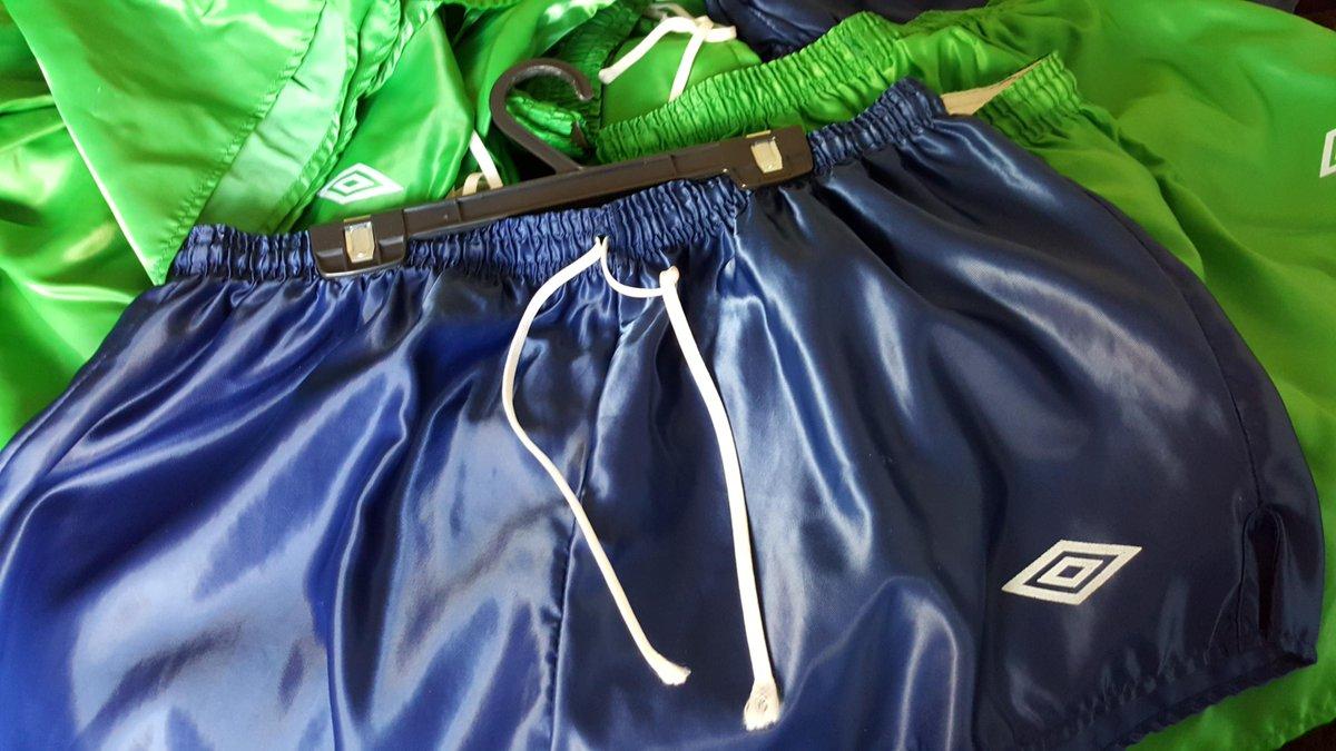 umbro nylon shorts