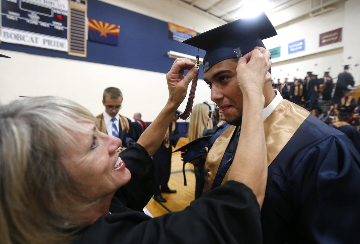 PHOTOS: #Cienega High School #graduation for the Class of 2015 >> MORE: http://t.co/4MRnUvvNWp #azhs