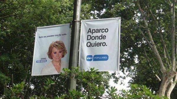 EL LEMA DE ESPE #jajaja #EsperanzaAguirre http://t.co/SOQCnpelu4