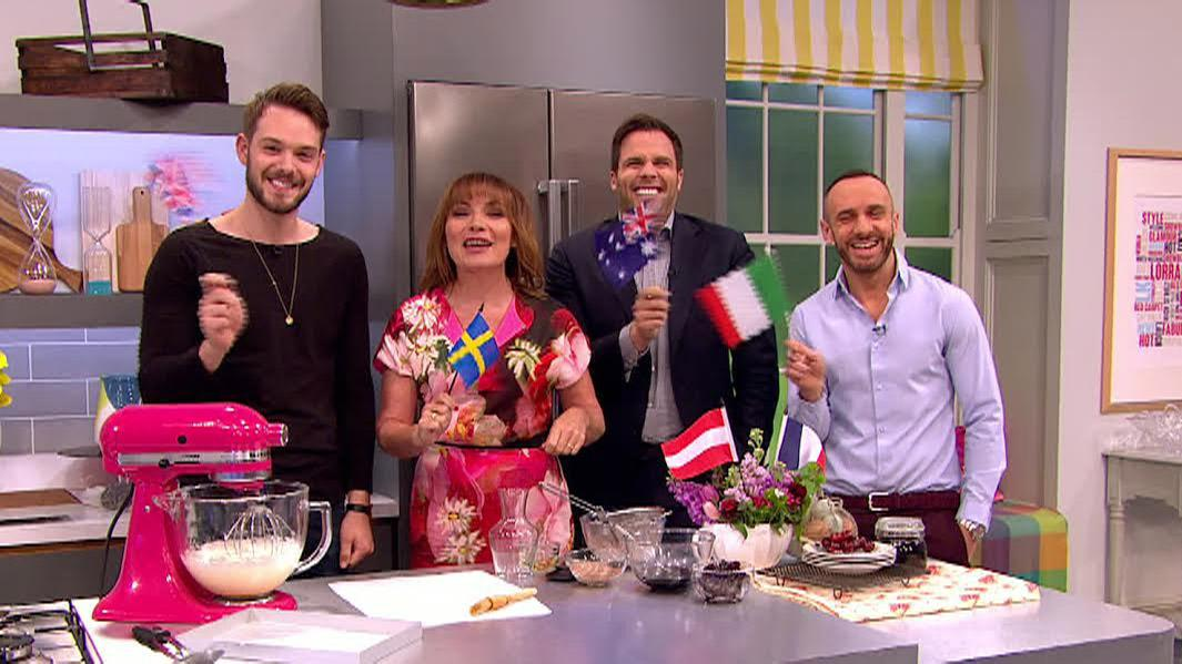 RT @ITVLorraine: Flags at the ready for @Eurovision! @JohnWhaiteBakes @reallorraine @danwootton @MarkHeyes #Eurovision http://t.co/2VdPu9A…