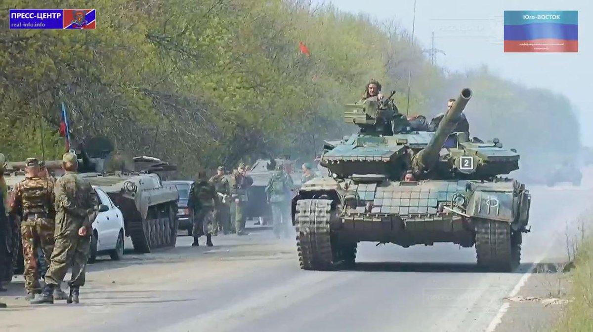 Террористы ведут чрезвычайно плотный огонь из ствольной артиллерии, 120-мм минометов и танков, - спикер АТО - Цензор.НЕТ 6013