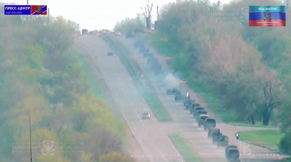 Террористы ведут чрезвычайно плотный огонь из ствольной артиллерии, 120-мм минометов и танков, - спикер АТО - Цензор.НЕТ 5198