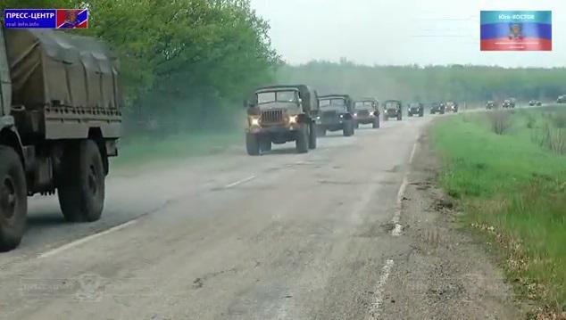 Террористы ведут чрезвычайно плотный огонь из ствольной артиллерии, 120-мм минометов и танков, - спикер АТО - Цензор.НЕТ 272