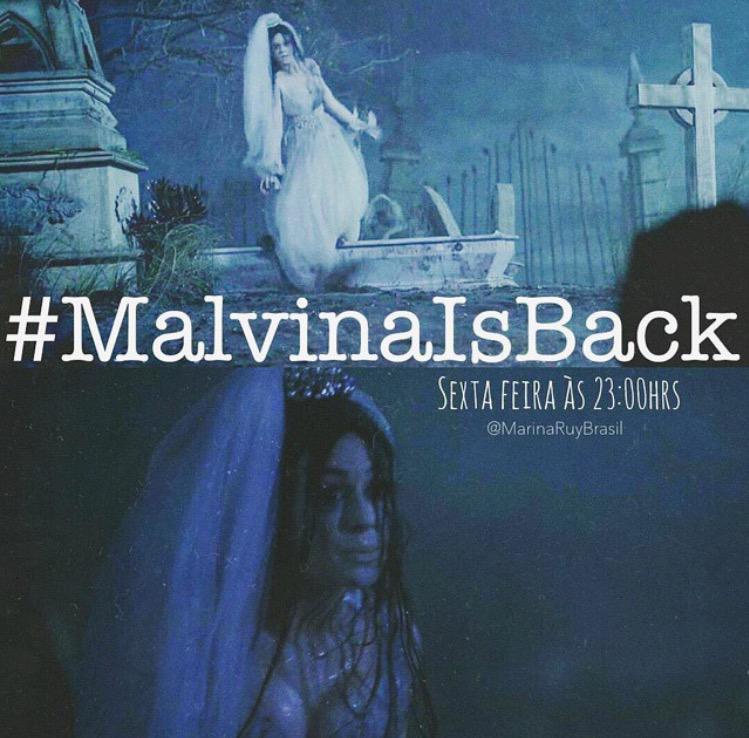 Marina Ruy-barbosa  - HOJE! 👰 twitter @mariruybarbosa malvinaisback