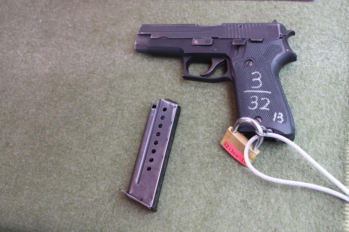 拳銃 中学生