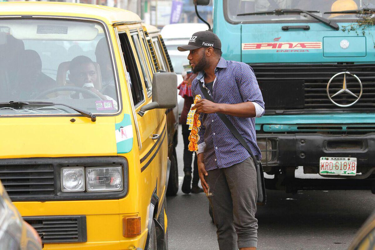 Did u spot @iam_kcee in Lagos 2day? Disguised as an MTN recharge card seller but actually giving them out to his Fans http://t.co/S6gJ2TS2TU