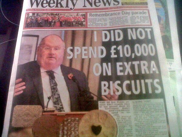 Eric Pickles gets a knighthood! http://t.co/JJnZo3r06u