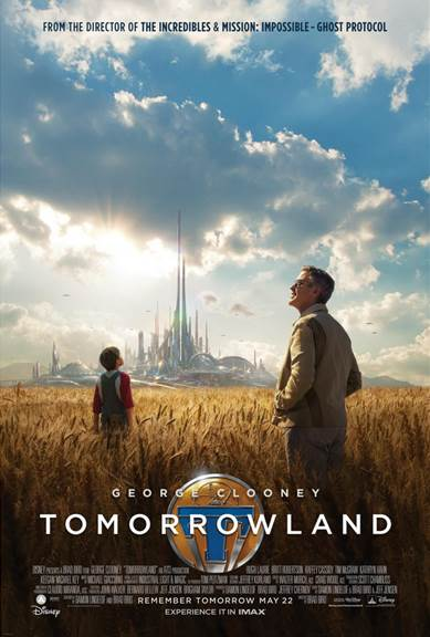 Tomorrowland is one MOVIE you do not want to MISS this weekend! #TomorrowlandEvent  My review: http://t.co/DHK5An5JnQ http://t.co/ZP0WD7eA0d