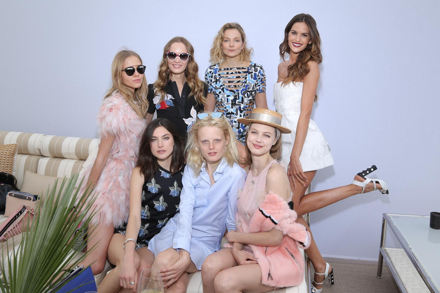 RT @Fendi: Highlights from the celebration of the new 'Fendi by Karl Lagerfeld' book in #Cannes http://t.co/e2cX5DZhig