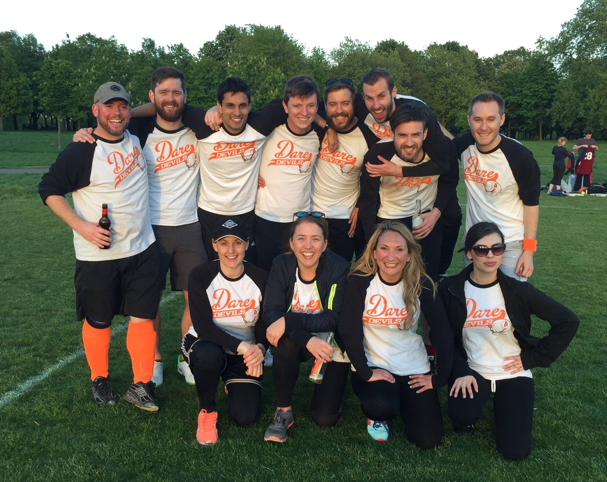 Softball fun in the sun last night with the Dare Devils - congrats to @dneg who won a close-fought game! http://t.co/0RtNkmB4dw