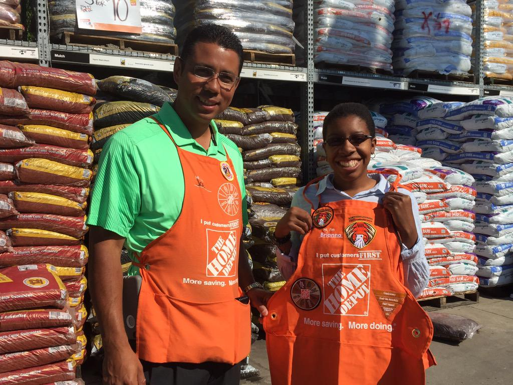 Home Depot 2552 On Twitter Congrats Brianna Presidential