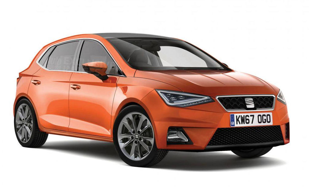 sharper new seat ibiza to get look of leon when it arrives. Black Bedroom Furniture Sets. Home Design Ideas