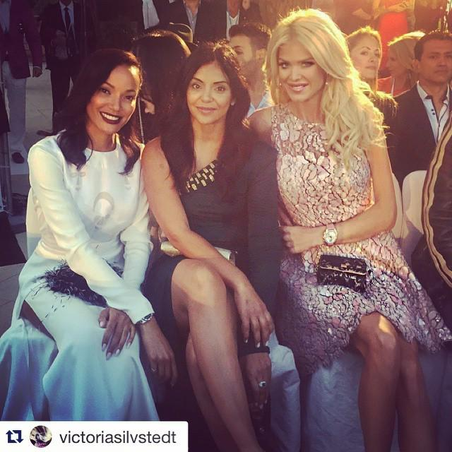 #Repost @victoriasilvstedt with @repostapp. ・・・ Enjoying the show .. #amberlounge #f1 #sel… http://t.co/dTAR2lv0Df http://t.co/g5nDqTKXKm