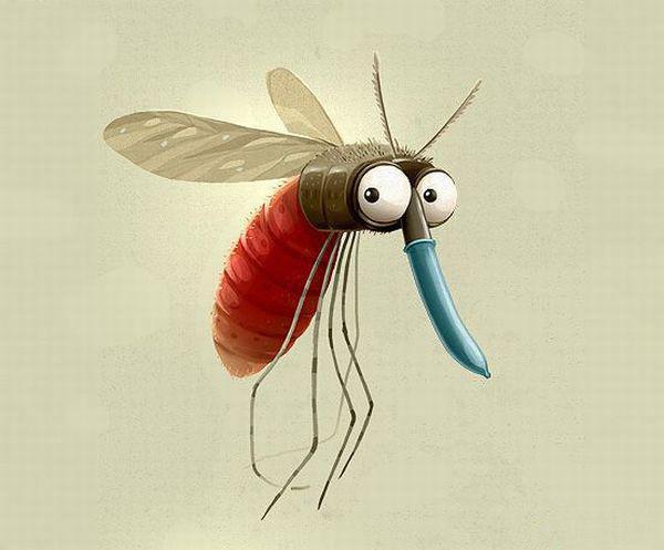 Комар прикольные картинки
