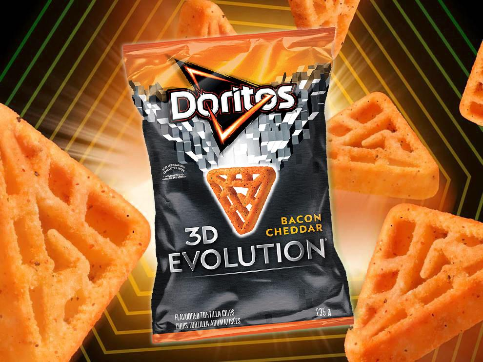 Introducing new Bacon Cheddar flavoured Doritos 3D Evolution chips, our latest innovation! http://t.co/gY3ghJLKGv