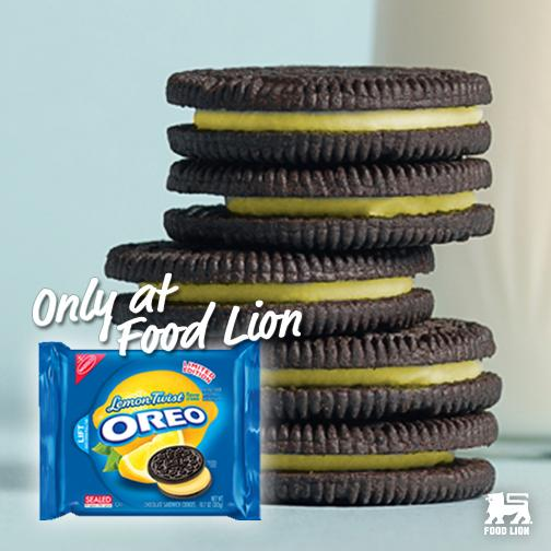Looking for the newest @Oreo flavor? You'll only find them at Food Lion. #LemonTwist #MemorialDay http://t.co/AADWXhOimi
