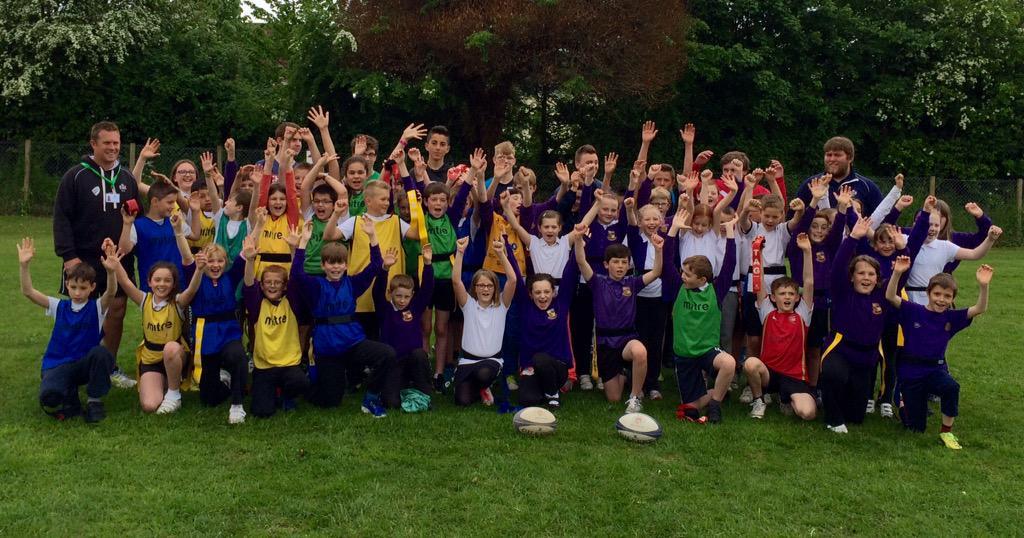 RT @UpandUnderSport: Superb morning with RugbyWorks boys running a Tag Rugby festival with Yr5's at Fynamore Sch @BrisRugCF @dallagliofdn h…