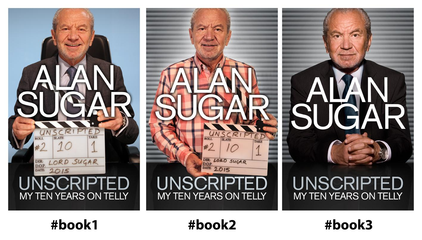 Help me choose a front cover for my new book. My 10 years on telly. Vote using #book1 #book2 #book3 Out September http://t.co/0CB6PLeO7t