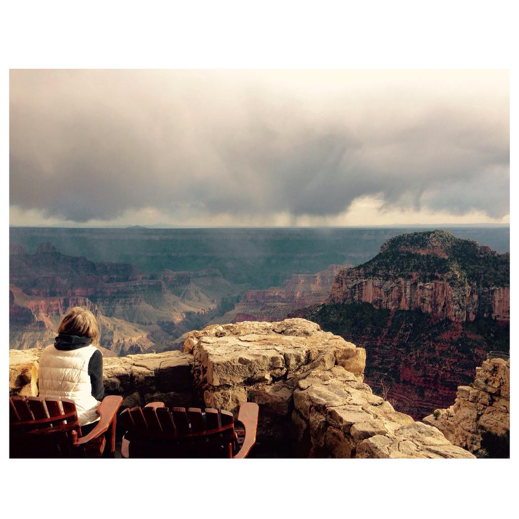 Checking in, Grand Canyon Lodge @GrandCanyonNPS #lp @lonelyplanet http://t.co/9Lnrc5Qxcn