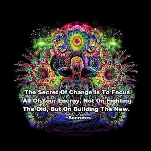 Rakeverywhere On Twitter The Secret Of Change Is To Focus All Of Your Energy Not On Fighting