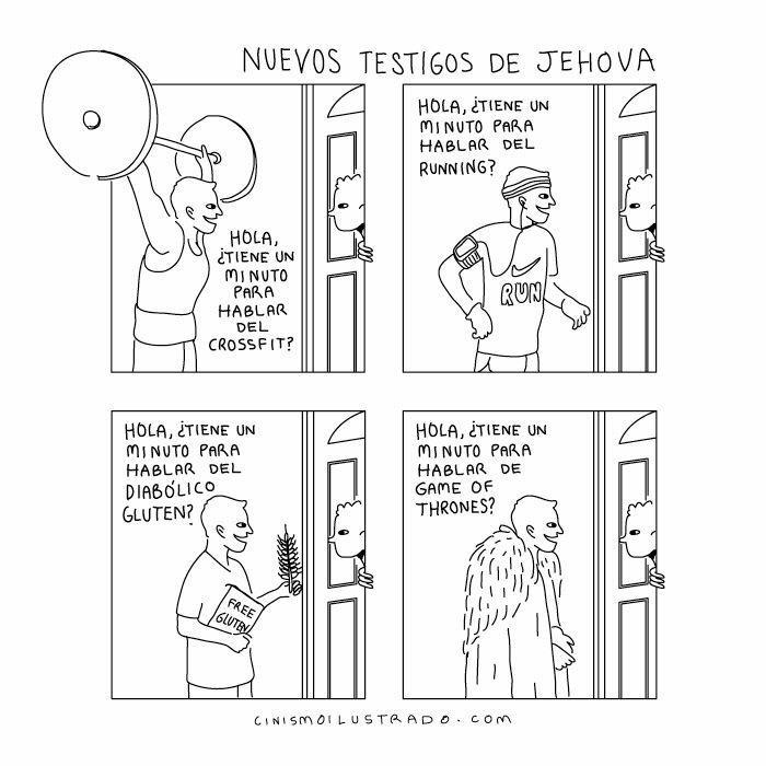 Los nuevos testigos de Jehova http://t.co/gK2dHfuuso