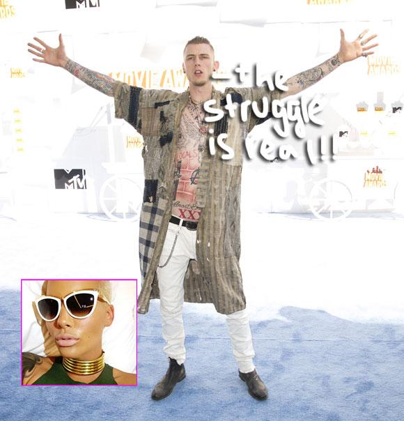 Rapper #MachineGunKelly dishes on what it's like dating #AmberRose http://t.co/MS57BZq7En http://t.co/6AvkadeAmo