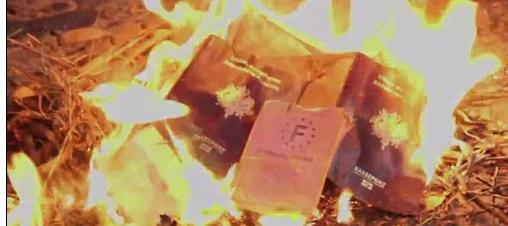 Hasil gambar untuk burning passports