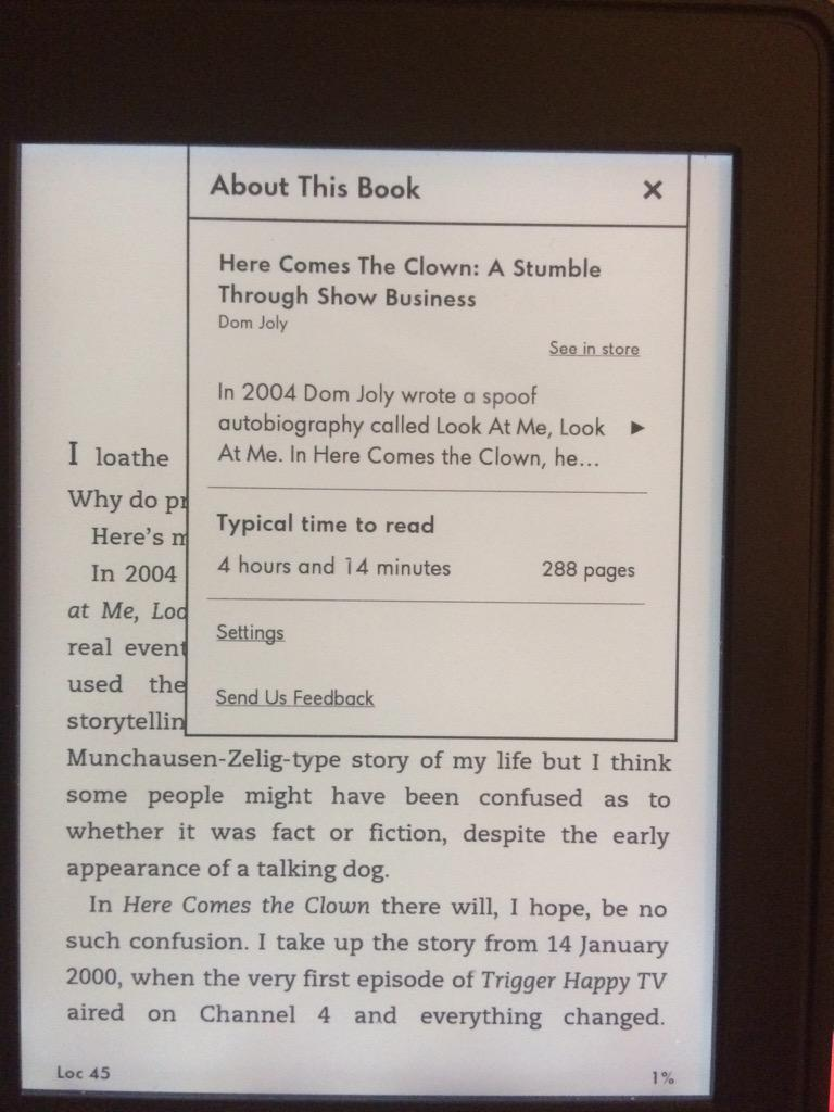 RT @AlexLihou: @domjoly just bought your new book, looking forward to it! http://t.co/RqmHo7sY9K